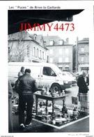 """CPM -  Les """" Puces """" Place Thiers En Janvier 1991 - BRIVE LA GAILLARDE 19 Corrèze - Photo André ROQUE  Scans Recto-Verso - Markets"""