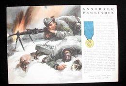 WWII Cartolina - Medaglie D' Oro Guerra 1940 Pagliarin - Militaria