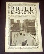 Trasporti Tram Tramways -  Rivista BRILL Company Magazine - 1912 - RARO - Non Classificati