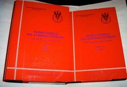 WWII Diario Storico Comando Supremo Vol. VII Tomo I E II - 1.5.1942 - 31.8.1942 - Documenti