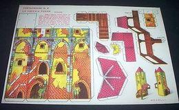 Tipo Marca Stella Gioco Costruzione N° 7 La Vecchia Torre - 1930 Ca. - Giocattoli Antichi