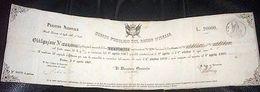 Scripofilia - Obbligazione Regno Italia Titoli Debito Pubblico  L. 20000 - 1866 - Azioni & Titoli