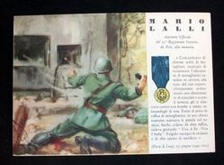 WWII Cartolina - Medaglie D' Oro Guerra 1940 - Lalli - Militari