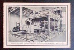 Pubblicità Brochure Società Generale Macchine Edili Expo Torino 1911 - Old Paper