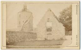 CDV ± 1870 Stranraer, Scotland, Ruin Of Building And A Tower - Photographs