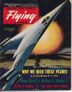FLYING Review - Royal Air Force - International Edition - August 1958 . - Brits Leger