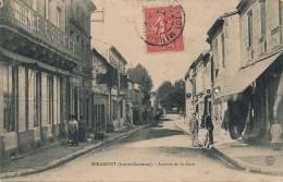 G152 - 47 - MIRAMONT - Lot-et-Garonne - Avenue De La Gare - France
