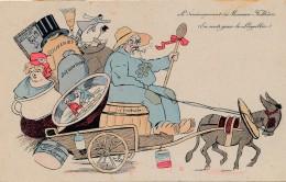 G152 - POLITIQUE - Le Déménagement De Monsieur Fallières - En Route Pour Le Loupillon - Satiriques