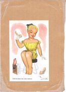 ILLUSTRATEUR BERTIN - CPA COLORISEE - Entre Les Deux Mon Coeur Blance  - TON3 - - Autres Illustrateurs