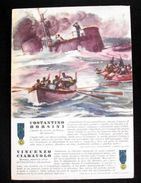 WWII Cartolina - Medaglie D' Oro Guerra 1940 - Borsini - Militari