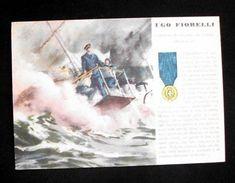 WWII Cartolina - Medaglie D' Oro Guerra 1940 - Fiorelli - Militari