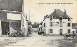 Auxonne (Côte-d'Or) - Entrée Par La Route De Labergement, Café-Restaurant Picard - Edition L. Granger - Auxonne