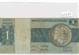 Billets -B2953- Brésil - Um Cruzeiro  (type, Nature, Valeur, état... Voir  Double Scans) - Brazil