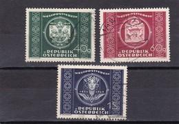 Österreich, Nr. 943/45, Gest. (T 424) - 1945-.... 2. Republik