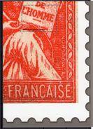 Feuillet Gommé Philaposte  4e Quart Mouchon - 1900-02 Mouchon