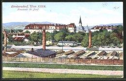 AK Wien-Strebersdorf, Teilansicht Mit Pensionat St. Josef - Unclassified
