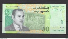 Billet De SM Le Roi Mohamed VI. 50 Dhs. (Voir Commentaires) - Maroc