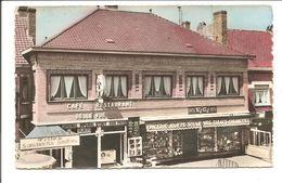 CPSM Mont-Noir Westoutre . Café Restaurant Belle-Vue {Couleur} - Heuvelland