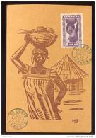 CP - Sénégal  AOF - St Louis  Mauritanie 1940 - - Brieven En Documenten