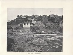 1900 - Iconographie - Saint-Lizier (Ariège) - Vue Générale - FRANCO DE PORT - Vieux Papiers