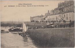 SAINT MALO CALE DE DINAN RENTREE DU CANOT DE SAUVETAGE TBE - Saint Malo