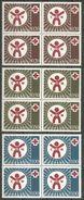 Yugoslavia,Red Cross 1977.,blocks Of Four,MNH - Unused Stamps
