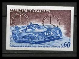 France N°1761 24 Heures Du Mans Voiture (Cars) Non Dentelé ** MNH (Imperforate) - Cars