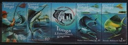 Tonga 2001 Yvertn° 1185-1188  *** MNH Cote 12,50 Euro Faune Poissons Vissen Fish - Tonga (1970-...)