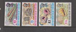 Yvert 59 / 62 ** Neuf Sans Charnière MNH Coquillage Shell - British Indian Ocean Territory (BIOT)