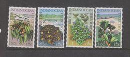 Yvert 78 / 81 ** Neuf Sans Charnière MNH Fleur Flower - British Indian Ocean Territory (BIOT)