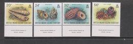 Yvert 173 / 176 ** Neuf Sans Charnière MNH Coquillage Shell - British Indian Ocean Territory (BIOT)