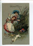 Enfants Oeufs Paques - Pasqua