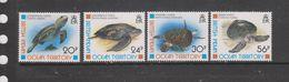 Yvert 181 / 184 ** Neuf Sans Charnière MNH Tortue - British Indian Ocean Territory (BIOT)