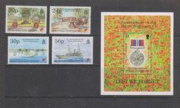 Yvert 165 / 168 + BF 5 ** Neuf Sans Charnière MNH Fin De La Deuxième Guerre Mondiale - British Indian Ocean Territory (BIOT)