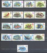 Bermudes, Yvert 353/369, Scott 363/379, MNH - Bermudes