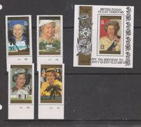 Yvert 177 / 180 + BF 6 ** Neuf Sans Charnière MNH Reine Elizabeth II - British Indian Ocean Territory (BIOT)