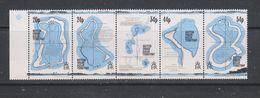 Yvert 145 / 149 ** Neuf Sans Charnière MNH Carte - British Indian Ocean Territory (BIOT)