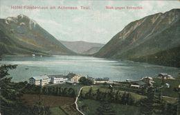 Hotel Fürstenhaus Am Achensee - Blick Gegen Seespitze 1905 (002268) - Achenseeorte