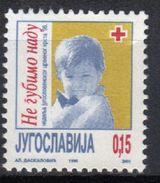 Yugoslavia,Red Cross II 1996.,MNH - 1992-2003 République Fédérale De Yougoslavie