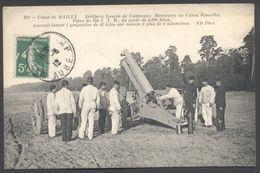 Artillerie Lourde De Campagne - Manoeuvre Du Canon Rimailho - Camp De Mailly - N°251 - Voir 2 Scans - Manoeuvres
