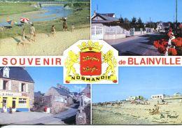N°60268 GF-cpsm Souvenir De Blainville -multivues- - Blainville Sur Mer