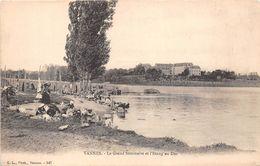 ¤¤   -  VANNES   -  Le Grand Séminaire Et L'Etang Au Duc   -  Lavoir , Lavendières , Laveuses      -   ¤¤ - Vannes
