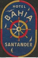 Etiquette D'hôtel : Hôtel Bahia - Santander - Espagne - Hotel Labels