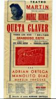 TEATRO (Programa)  Año 1959 - Programas