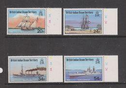 Yvert 114 / 117 ** Neuf Sans Charnière MNH Bateau - British Indian Ocean Territory (BIOT)