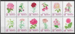 199 MONACO 2014-25 ** Fleurs, Roses - Neufs
