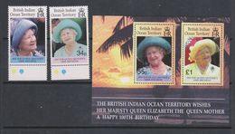 Yvert 229 / 230 + BF14 ** Neuf Sans Charnière MNH Reine Elizabeth II - British Indian Ocean Territory (BIOT)