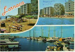 Cyprus Larnaca Postcard Via Macedonia ,nice Stamp - Heritage - Cyprus