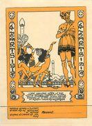 RARE PROGRAMME INVITATION BAL DES 4 ZARTS - 1912 - CARTON PROGRAMME - PARTIE INVITATION ATTENANTE (14 X 19 Cm) TB **** - Autres Illustrateurs