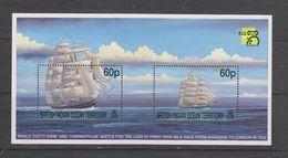 Yvert Bloc 12 ** Neuf Sans Charnière MNH Voilier - British Indian Ocean Territory (BIOT)
